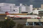 funi9280さんが、高雄国際空港で撮影した遠東航空 MD-82 (DC-9-82)の航空フォト(写真)