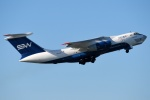 shimashimaさんが、成田国際空港で撮影したシルク・ウェイ・エアラインズ Il-76TDの航空フォト(写真)