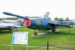 ちゃぽんさんが、モニノ空軍博物館で撮影したソビエト海軍 Yak-36の航空フォト(写真)