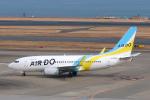 らむえあたーびんさんが、羽田空港で撮影したAIR DO 737-781の航空フォト(写真)