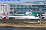 Chofu Spotter Ariaさんが、東京ヘリポートで撮影したアカギヘリコプター AS350B Ecureuilの航空フォト(写真)