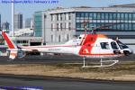 Chofu Spotter Ariaさんが、東京ヘリポートで撮影した朝日航洋 AS355F1 Ecureuil 2の航空フォト(写真)