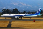 Kuuさんが、鹿児島空港で撮影した全日空 A321-272Nの航空フォト(飛行機 写真・画像)