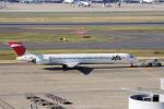 yabyanさんが、羽田空港で撮影した日本航空 MD-90-30の航空フォト(飛行機 写真・画像)