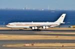 ちかぼーさんが、羽田空港で撮影したドイツ空軍 A340-313Xの航空フォト(写真)