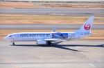 ちかぼーさんが、羽田空港で撮影した日本トランスオーシャン航空 737-8Q3の航空フォト(写真)