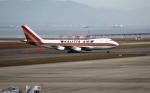 撮り空ひでさんが、中部国際空港で撮影したカリッタ エア 747-246F/SCDの航空フォト(写真)