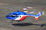 とらまるさんが、名古屋飛行場で撮影した大分県防災航空隊 BK117C-2の航空フォト(写真)