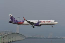 kuro2059さんが、関西国際空港で撮影した香港エクスプレス A321-231の航空フォト(飛行機 写真・画像)