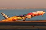 まえちんさんが、羽田空港で撮影した全日空 777-281/ERの航空フォト(写真)