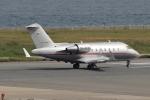 キイロイトリさんが、関西国際空港で撮影したビスタジェット CL-600-2B16 Challenger 605の航空フォト(写真)