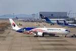 T.Sazenさんが、関西国際空港で撮影したマレーシア航空 A350-941XWBの航空フォト(写真)