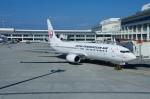 JA8943さんが、那覇空港で撮影した日本トランスオーシャン航空 737-8Q3の航空フォト(写真)
