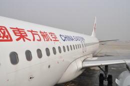 とっちさんが、西安咸陽国際空港で撮影した中国東方航空 A320-214の航空フォト(飛行機 写真・画像)