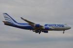 350JMさんが、横田基地で撮影したナショナル・エア・カーゴ 747-428(BCF)の航空フォト(写真)