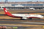 セブンさんが、羽田空港で撮影した上海航空 A330-343Xの航空フォト(飛行機 写真・画像)