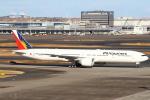 セブンさんが、羽田空港で撮影したフィリピン航空 777-3F6/ERの航空フォト(飛行機 写真・画像)