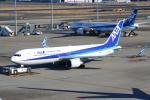 セブンさんが、羽田空港で撮影した全日空 767-381/ERの航空フォト(写真)