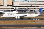 セブンさんが、羽田空港で撮影したユナイテッド航空 787-9の航空フォト(写真)