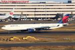 セブンさんが、羽田空港で撮影したデルタ航空 A330-302の航空フォト(飛行機 写真・画像)
