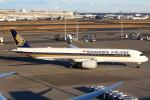 セブンさんが、羽田空港で撮影したシンガポール航空 A350-941XWBの航空フォト(写真)