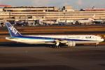 セブンさんが、羽田空港で撮影した全日空 777-381/ERの航空フォト(写真)