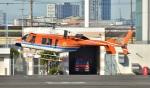 Soraya_Projectさんが、東京ヘリポートで撮影した新日本ヘリコプター 427の航空フォト(写真)