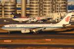 セブンさんが、羽田空港で撮影した中国国際航空 A330-243の航空フォト(飛行機 写真・画像)