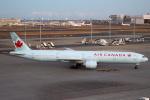 セブンさんが、羽田空港で撮影したエア・カナダ 777-333/ERの航空フォト(写真)