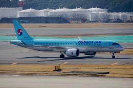 ちゃぽんさんが、成田国際空港で撮影した大韓航空 A220-300 (BD-500-1A11)の航空フォト(写真)