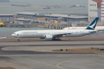 tsubameさんが、香港国際空港で撮影したキャセイパシフィック航空 777-367の航空フォト(写真)