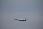セッキーさんが、羽田空港で撮影した朝日新聞社 560 Citation Encoreの航空フォト(写真)