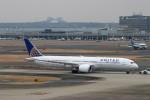 ハム太郎。さんが、羽田空港で撮影したユナイテッド航空 787-9の航空フォト(写真)