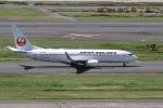 delawakaさんが、羽田空港で撮影した日本航空 737-846の航空フォト(飛行機 写真・画像)