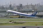 delawakaさんが、羽田空港で撮影した全日空 767-381/ERの航空フォト(写真)