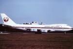 tassさんが、成田国際空港で撮影した日本航空 747-246Bの航空フォト(写真)