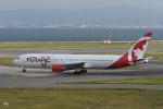 kuro2059さんが、関西国際空港で撮影したエア・カナダ・ルージュ 767-3Q8/ERの航空フォト(写真)