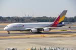 ちゃぽんさんが、成田国際空港で撮影したアシアナ航空 A380-841の航空フォト(飛行機 写真・画像)