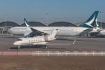KKiSMさんが、香港国際空港で撮影した中国個人所有 G-IV-X Gulfstream G450の航空フォト(写真)