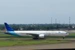 ★azusa★さんが、スカルノハッタ国際空港で撮影したガルーダ・インドネシア航空 777-3U3/ERの航空フォト(写真)