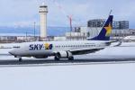 sky77さんが、新千歳空港で撮影したスカイマーク 737-8ALの航空フォト(写真)