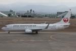 コギモニさんが、小松空港で撮影した日本トランスオーシャン航空 737-8Q3の航空フォト(写真)