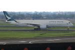 ★azusa★さんが、スカルノハッタ国際空港で撮影したキャセイパシフィック航空 A350-941XWBの航空フォト(写真)
