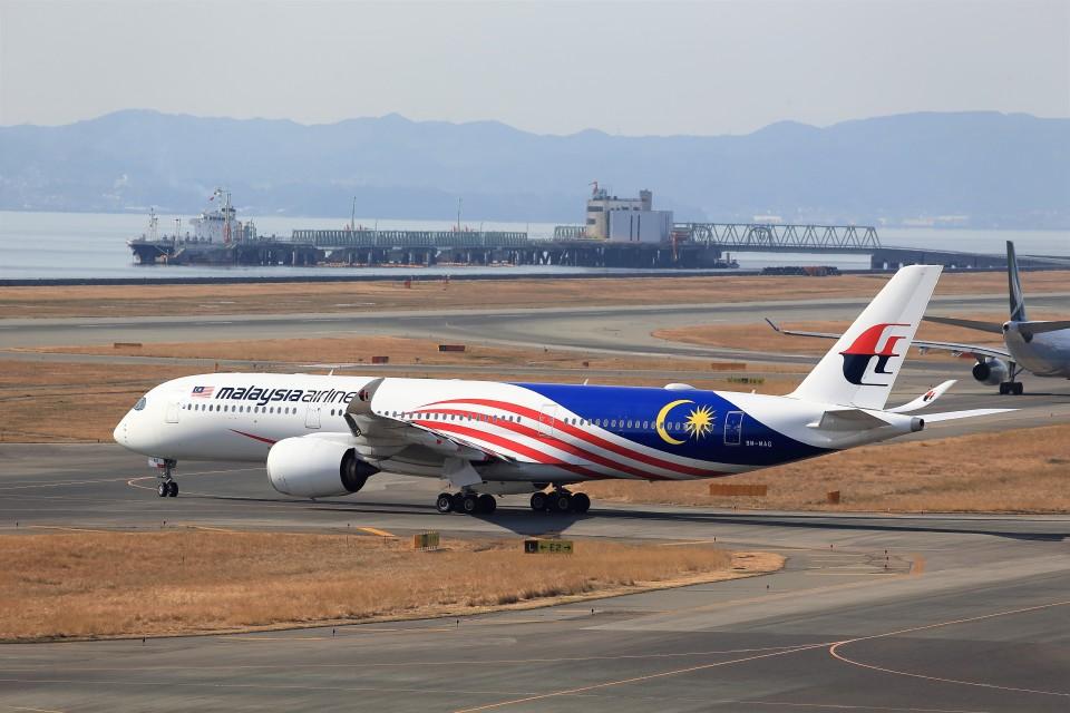 T.Sazenさんのマレーシア航空 Airbus A350-900 (9M-MAG) 航空フォト