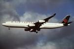 tassさんが、成田国際空港で撮影したエア・カナダ A340-313Xの航空フォト(写真)