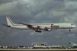 tassさんが、マイアミ国際空港で撮影したタンパ・カーゴ DC-8-71(F)の航空フォト(写真)