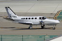 NINEJETSさんが、ロサンゼルス国際空港で撮影した不明 441 Conquest IIの航空フォト(飛行機 写真・画像)