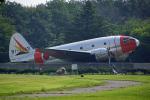 ちゃぽんさんが、所沢航空記念公園で撮影した航空自衛隊 C-46A-60-CKの航空フォト(飛行機 写真・画像)