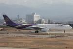 コギモニさんが、小松空港で撮影したタイ国際航空 A330-343Xの航空フォト(写真)