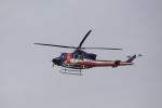 bakさんが、岐阜基地で撮影した岐阜県防災航空隊 412EPの航空フォト(写真)